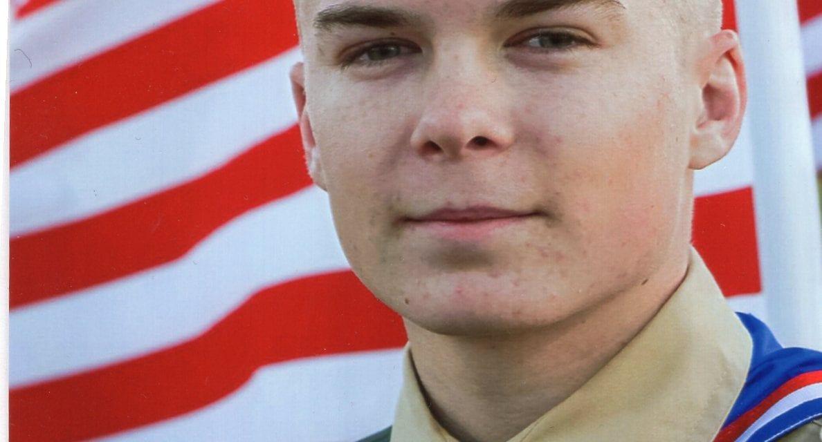 Eagle Scout McClain B. Easton