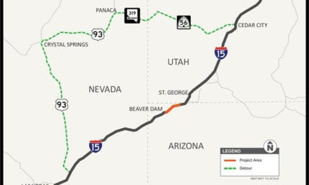 Roadwork in Virgin River gorge to start next month
