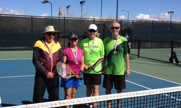 Mesquite Senior Games Winners-Tennis