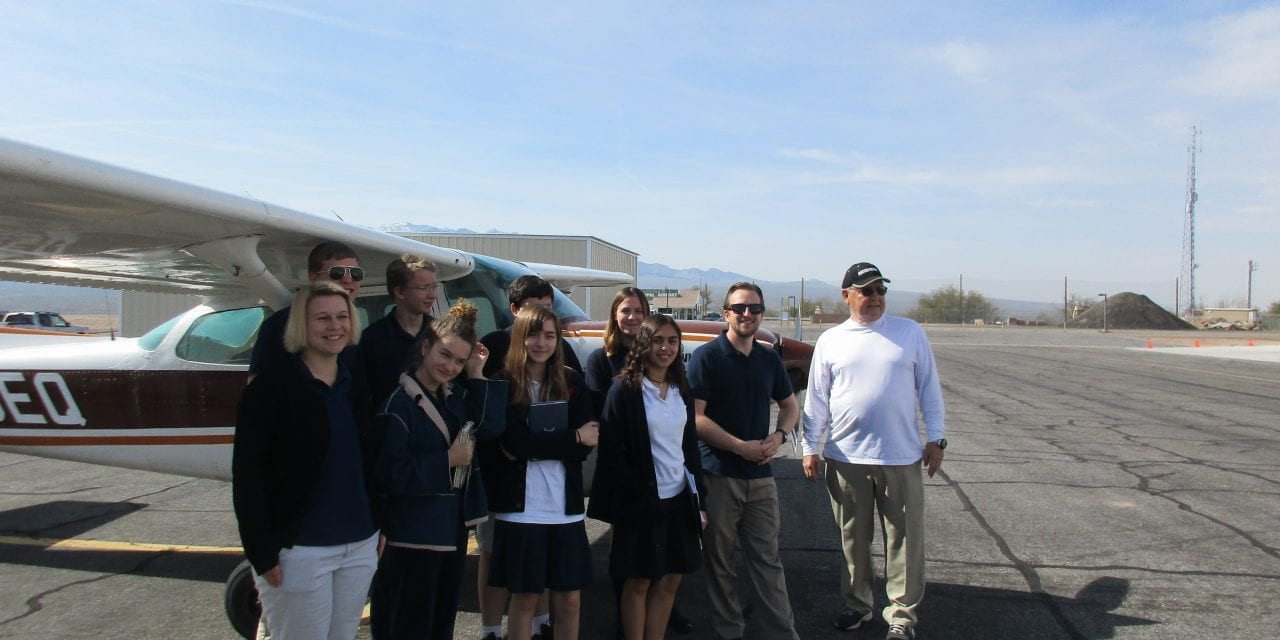 Mesquite Christian Academy students take private flights