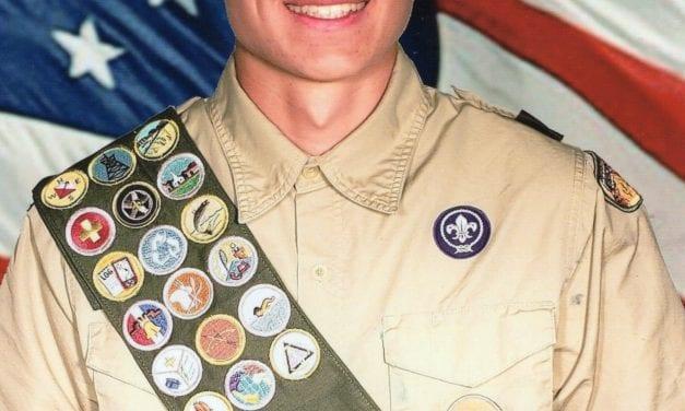 Isaac Akira Iverson receives Eagle Scout Award