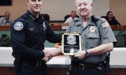 Mesquite Police Volunteer Coordinator Retires