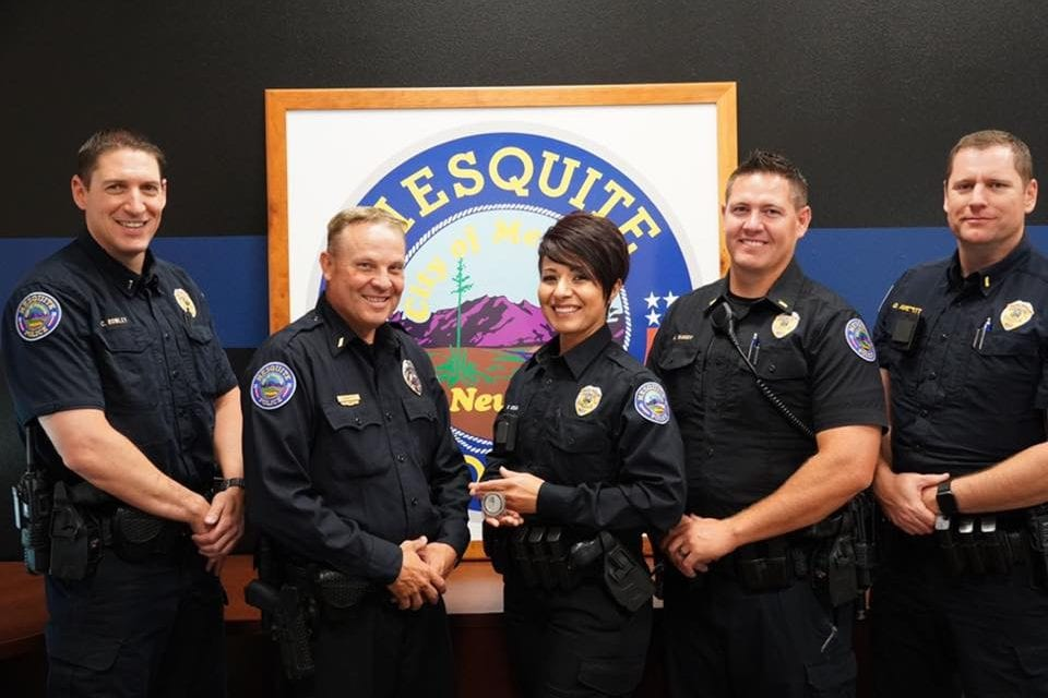 Detective Wendy Medina receives Best of the Badge awards for April 2019
