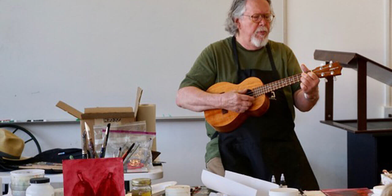 "Inside the ""Inside Acrylics"" Workshop with Phil Garrett"