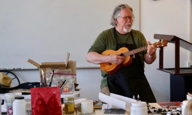"Inside the ""Inside Acrylics"" Workshop with Phil Garrett"