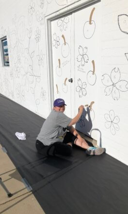 New mural livens Mesquite Campus wall