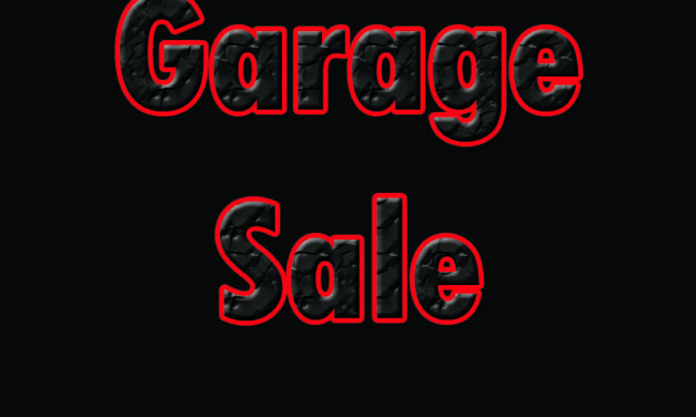 Massive Garage Sale TODAY!!   462 Canyon View Way