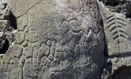 North America's oldest petroglyphs are at Winnemucca Lake