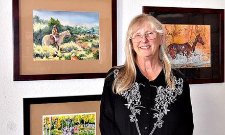 Teri Rochford  Mesquite Fine Arts Center Artist of the Month – August 2019