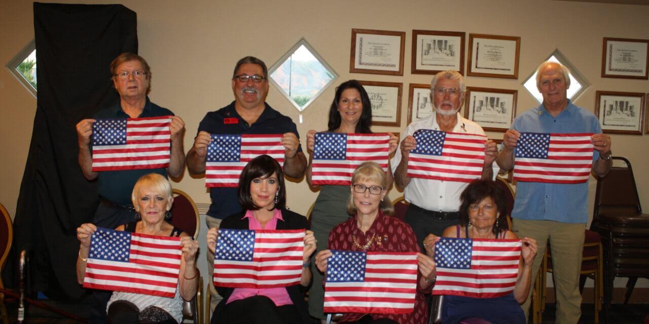 Mesquite Elks Lodge #2811 Initiates 9 new members.