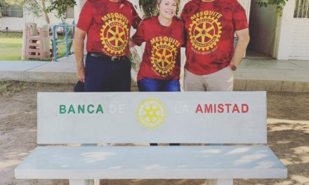 Mesquite Rotarians reach out across borders