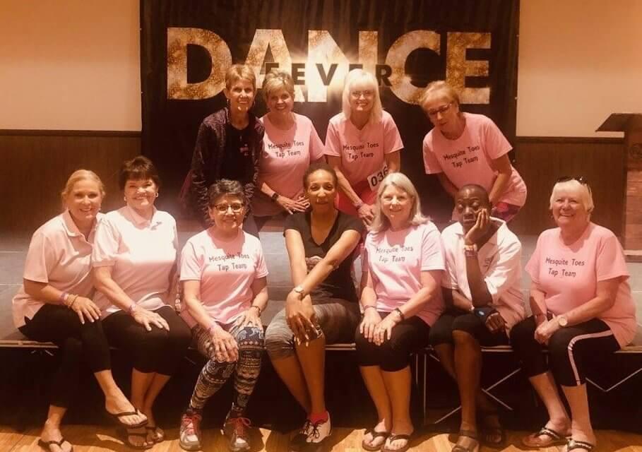 Dancers caught the Fuzion fever