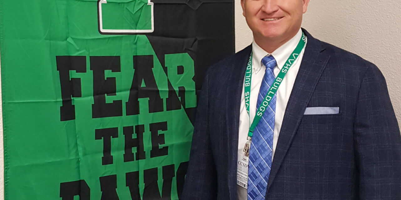 Principal Frei aims for excellence at VVHS