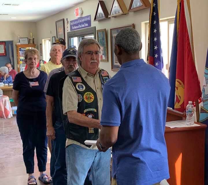 80 Veterans receive special honor
