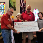 Mesquite United Methodist Church Gifts Local School Children