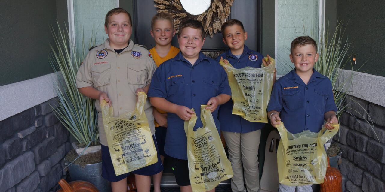 Cub Scout Food Drive