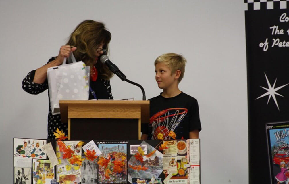 Quade Griffiths, placed third in the Adventurous Authors short story competition