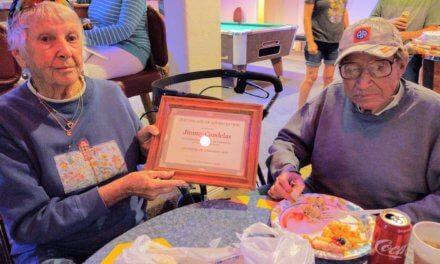 Cemetery volunteer retires