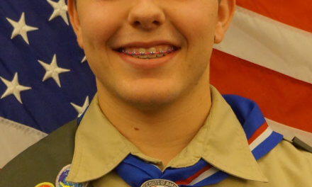 Stetson Ludvigson and Tannner Fielding received their Eagle Scout Award