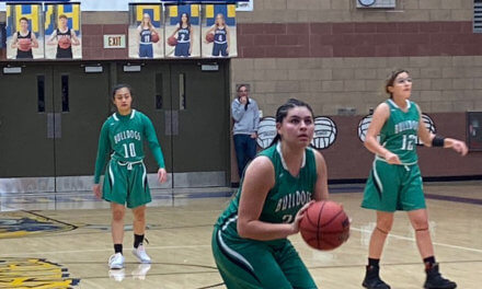 Lady Dawgs scuttled by Pirates 47-33
