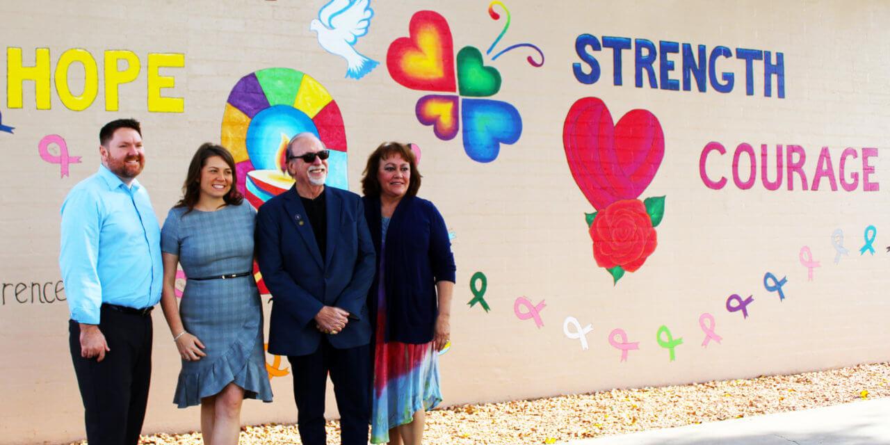 New mural dedication