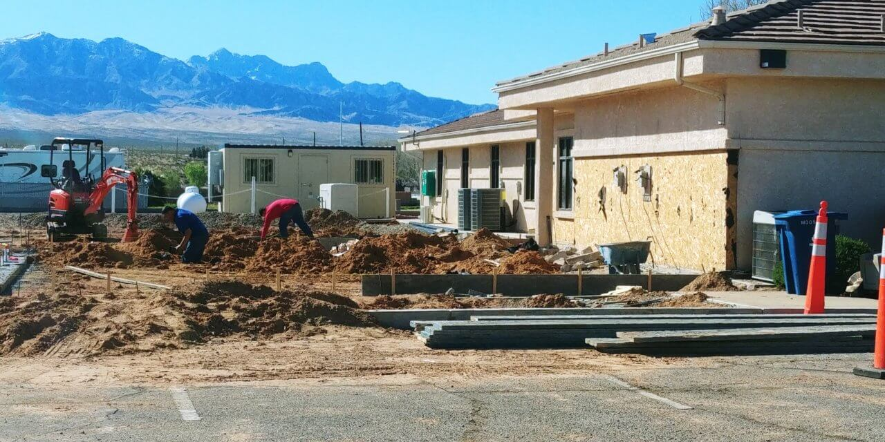 Building permits almost double in February