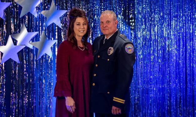 Lt. John Woods Retires from the Mesquite Police Department