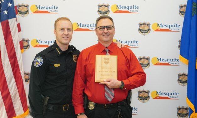 Mesquite Police Department Detective Darin Wilkins Retires