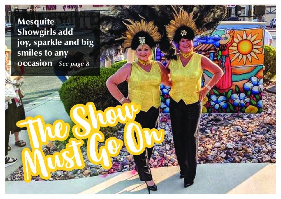 Mesquite Showgirls continue to shine