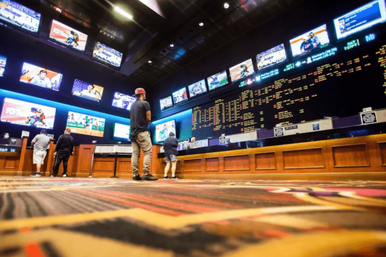 The Nevada Independent: Nevada sportsbooks headed toward a record year even as more states legalize the activity