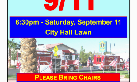 Exchange Club of Mesquite Holds Annual 9/11 Ceremony
