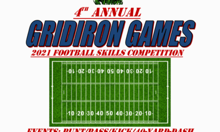 The 4th annual Gridiron GamesFootball Skills CompetitionOct 5th