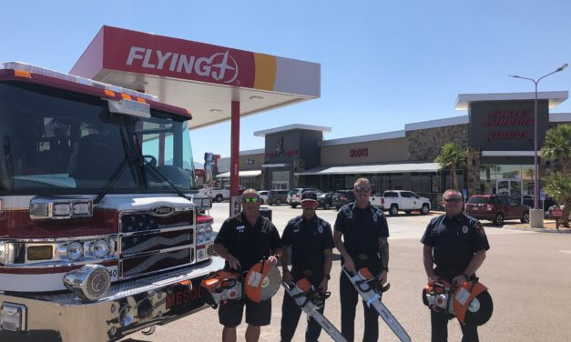 Mesquite Fire Rescue purchases new power saws from golf fundraisers
