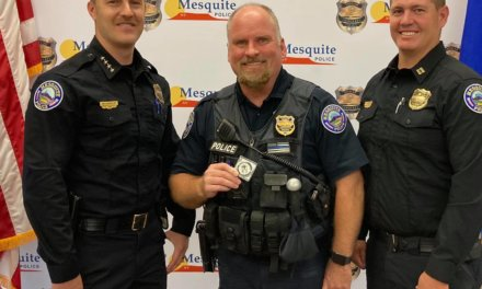 MPD Officer Bruehl awarded 'Best of the Badge' for August 2021