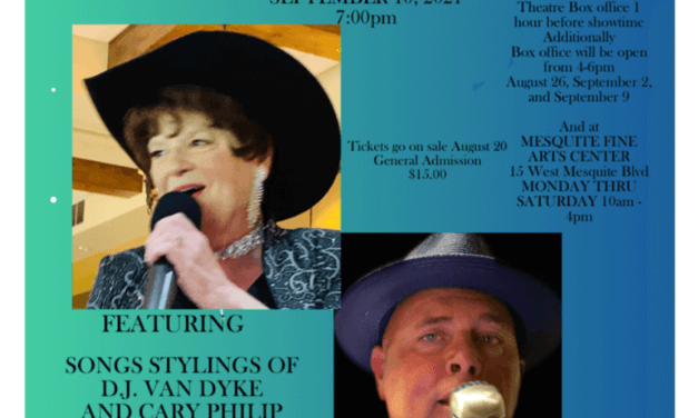 VIRGIN VALLEY THEATRE GROUP PRESENTS AN EVENING WITH PATSY AND FRANK SEPT 10th