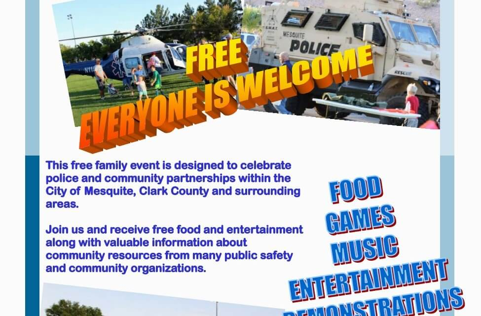Mesquite Police Department Announces Mesquite Night Out on Sept 22,2021