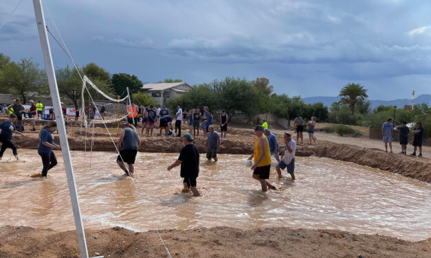 Rotary brings back popular mudd volleyball fundraising event