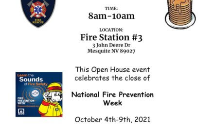 Mesquite Fire Rescue Free Breakfast Oct 9th