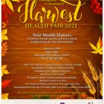 Harvest Health Fair Oct 29