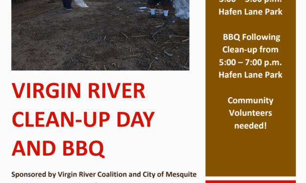 VIRGIN RIVER CLEAN UP DAY & BBQ OCTOBER 21, 2021